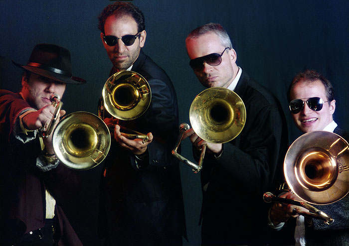 Berlin Band 'Funky Horns' with Thomas Bergmann